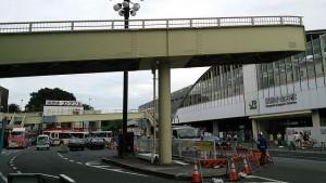 武蔵小金井北口歩道橋