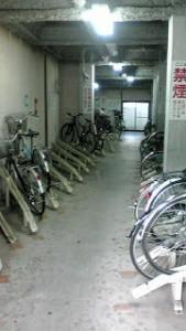 プレイス竹之内駐輪場
