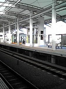 東小金井駅新ホーム