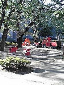 栗山公園広場