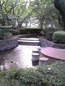 栗山公園水遊び場