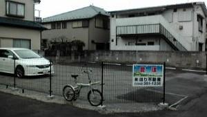 柿の木駐車場