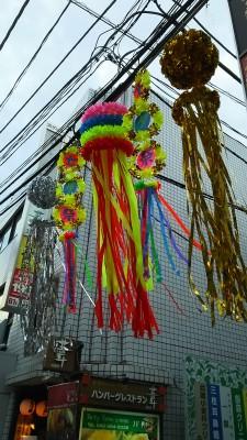七夕飾り2015