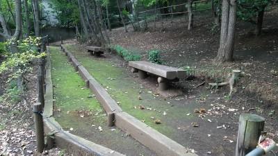どんぐり公園のベンチ
