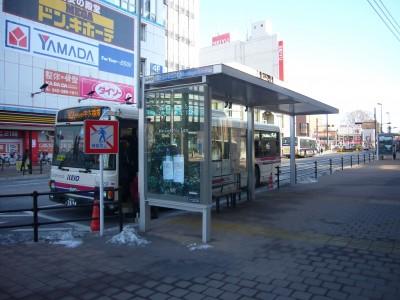 北口バス停中大循環